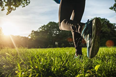 Jogging im Schweriner Schlossgarten